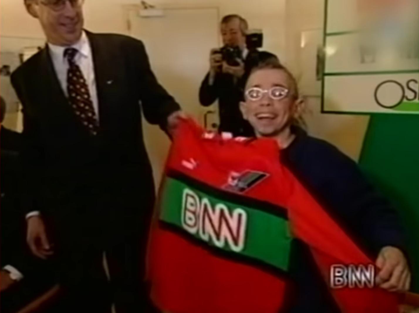 Memorabele momenten: BNN sponsort NEC