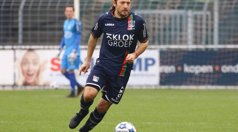 Edgar Barreto FC Dordrecht NEC