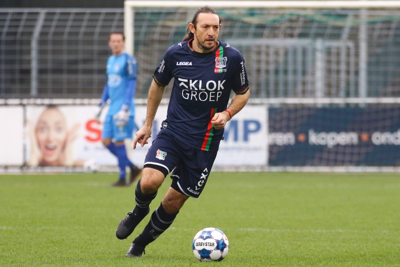 De Opstelling: NEC met Barreto tegen Telstar, meespelen Bruijn onzeker