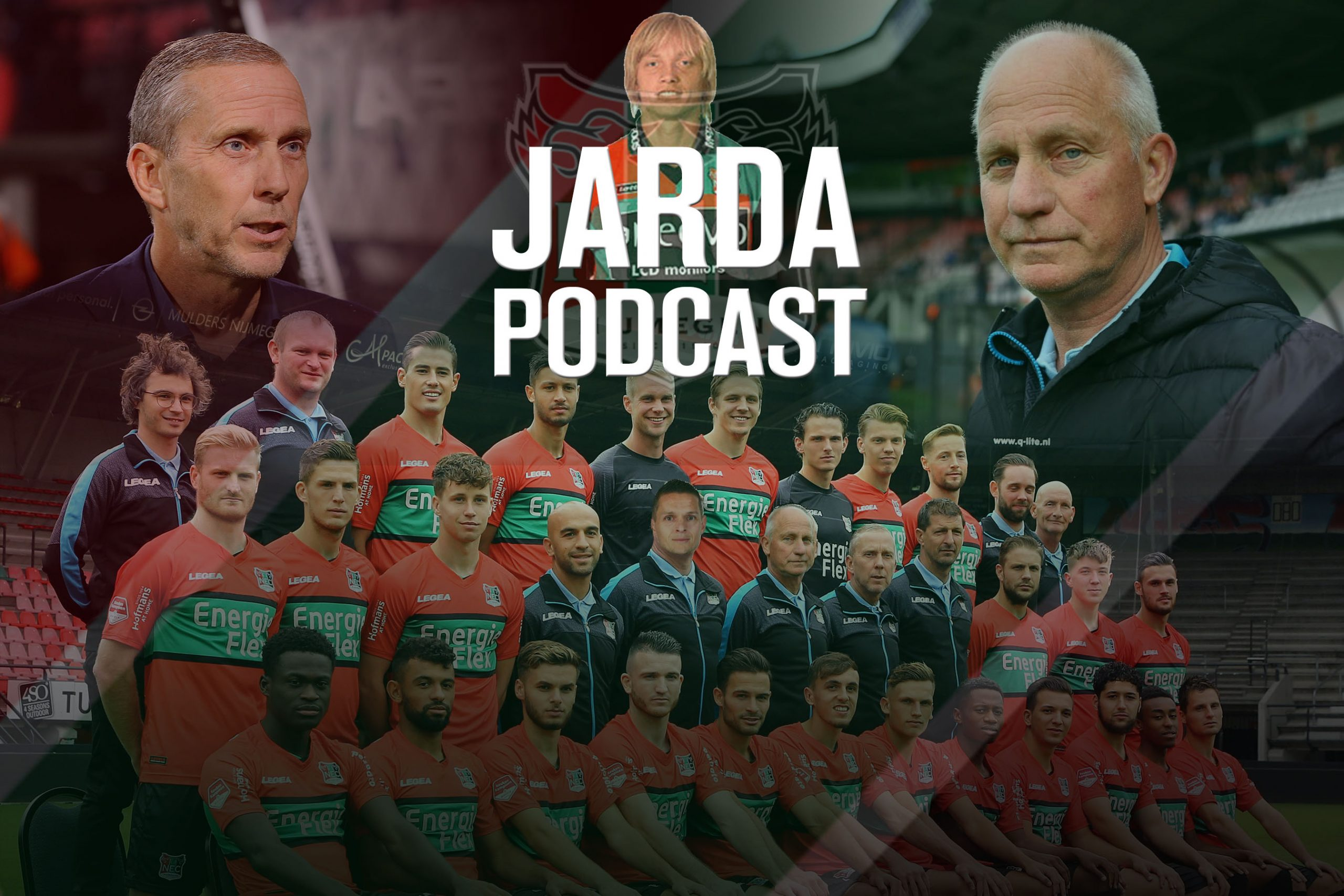 Jarda Podcast #10: Kritisch op trainerskeuze NEC en bezem door selectie