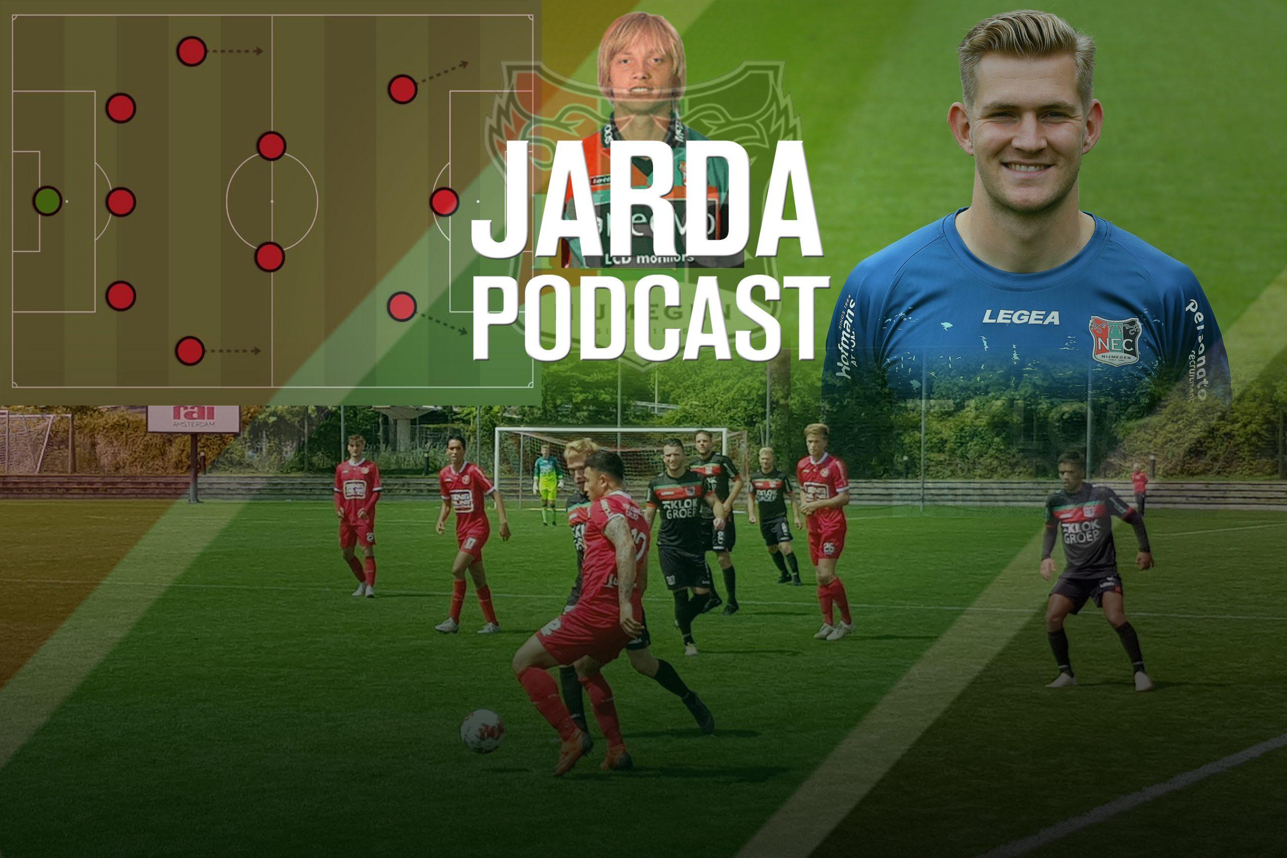 Jarda Podcast #13: de eerste test van NEC en de 5-2-3-analyse