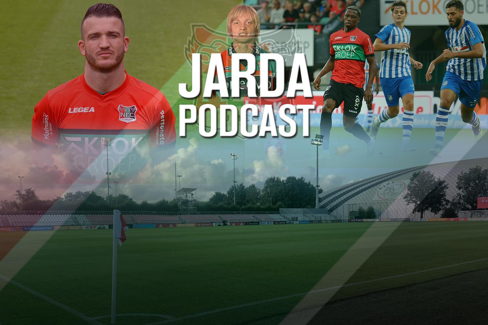 Jarda Podcast #17: De meningen over Jong Ajax-NEC en Randy geeft af