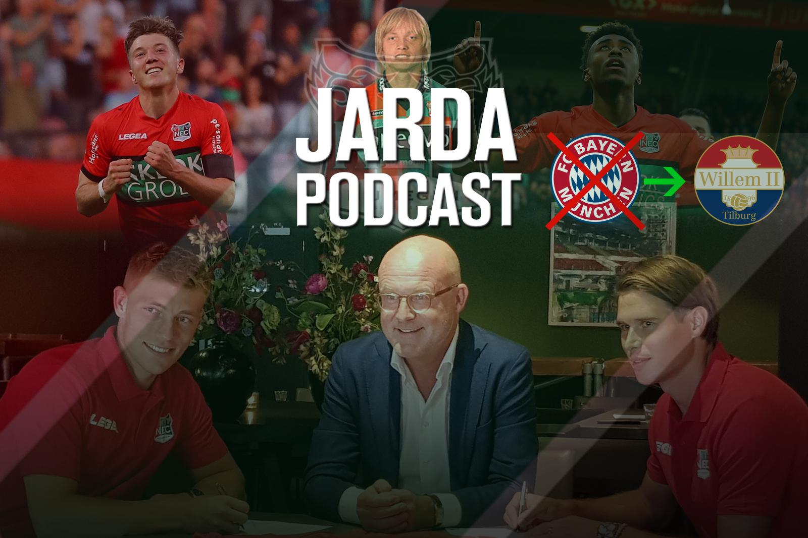 Jarda Podcast #19: Alles over de drukke Deadline Day van NEC