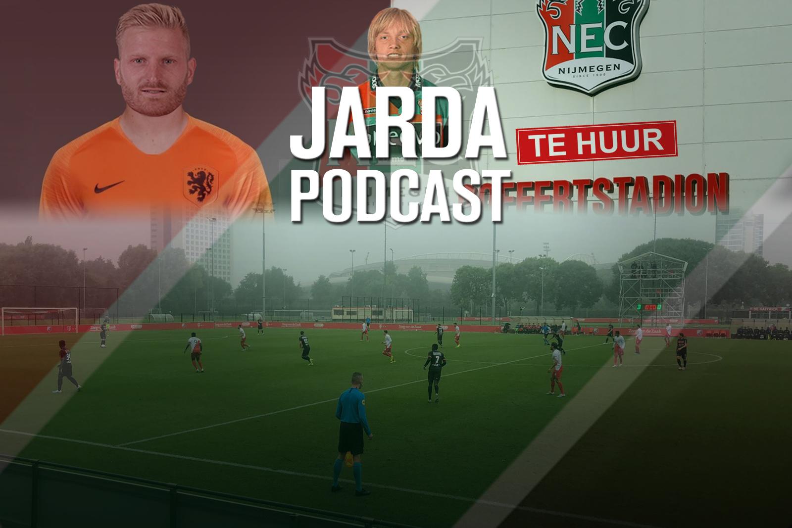 Jarda Podcast #20: NEC-loos weekend en in discussie met Mike Snoei