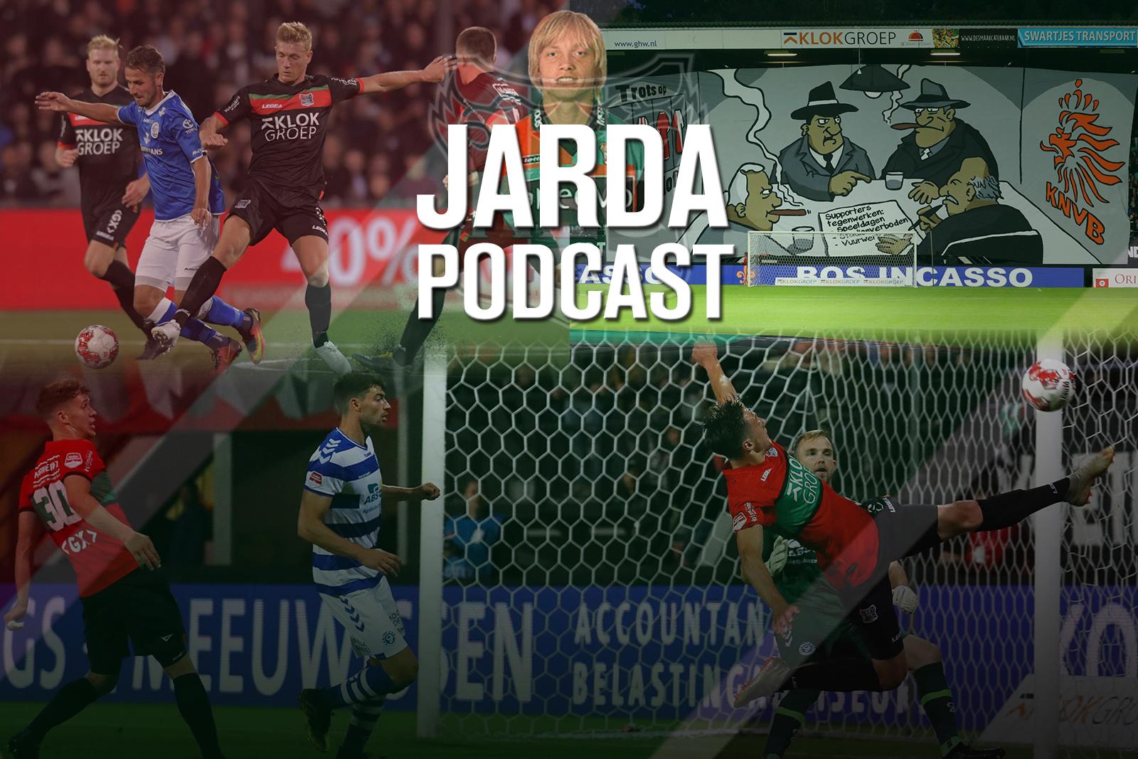 Jarda Podcast #21: De nabeschouwing van drukke NEC-dagen