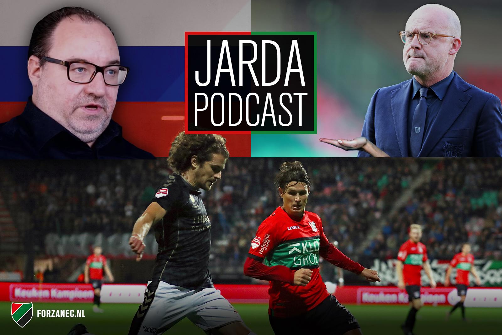 Jarda Podcast #23: Jack is back, schelden op NAC en Russische invloeden