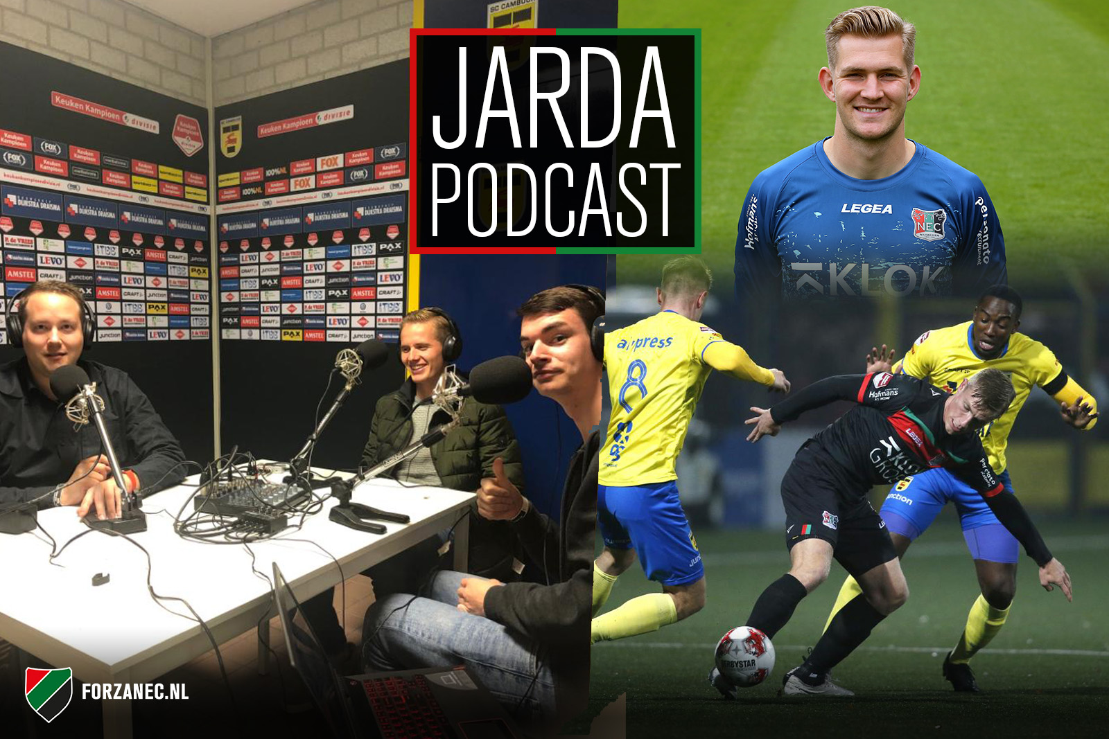Jarda Podcast #26: Vanuit de bezemkast over Cambuur-NEC