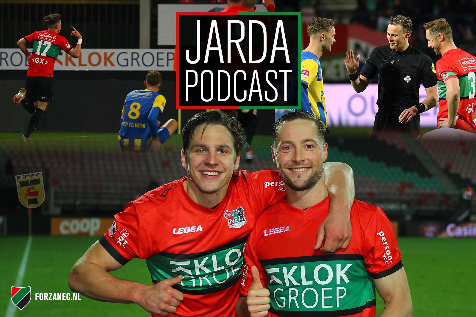 Jarda Podcast #27: Feestje na NEC-TOP en sorry voor Cambuur