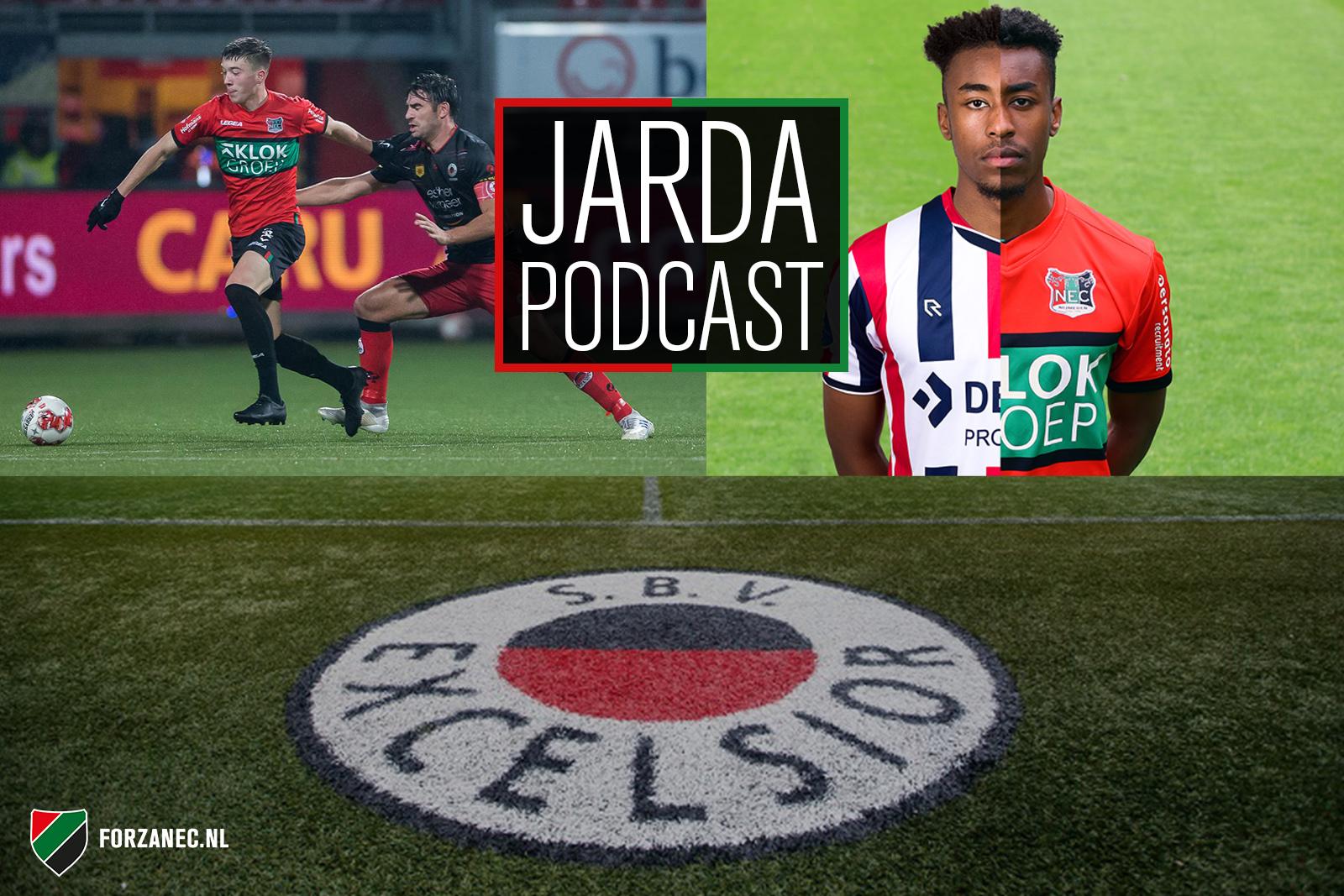 Jarda Podcast #29: Seizoen NEC is 'voorbij' en Trésor begint net