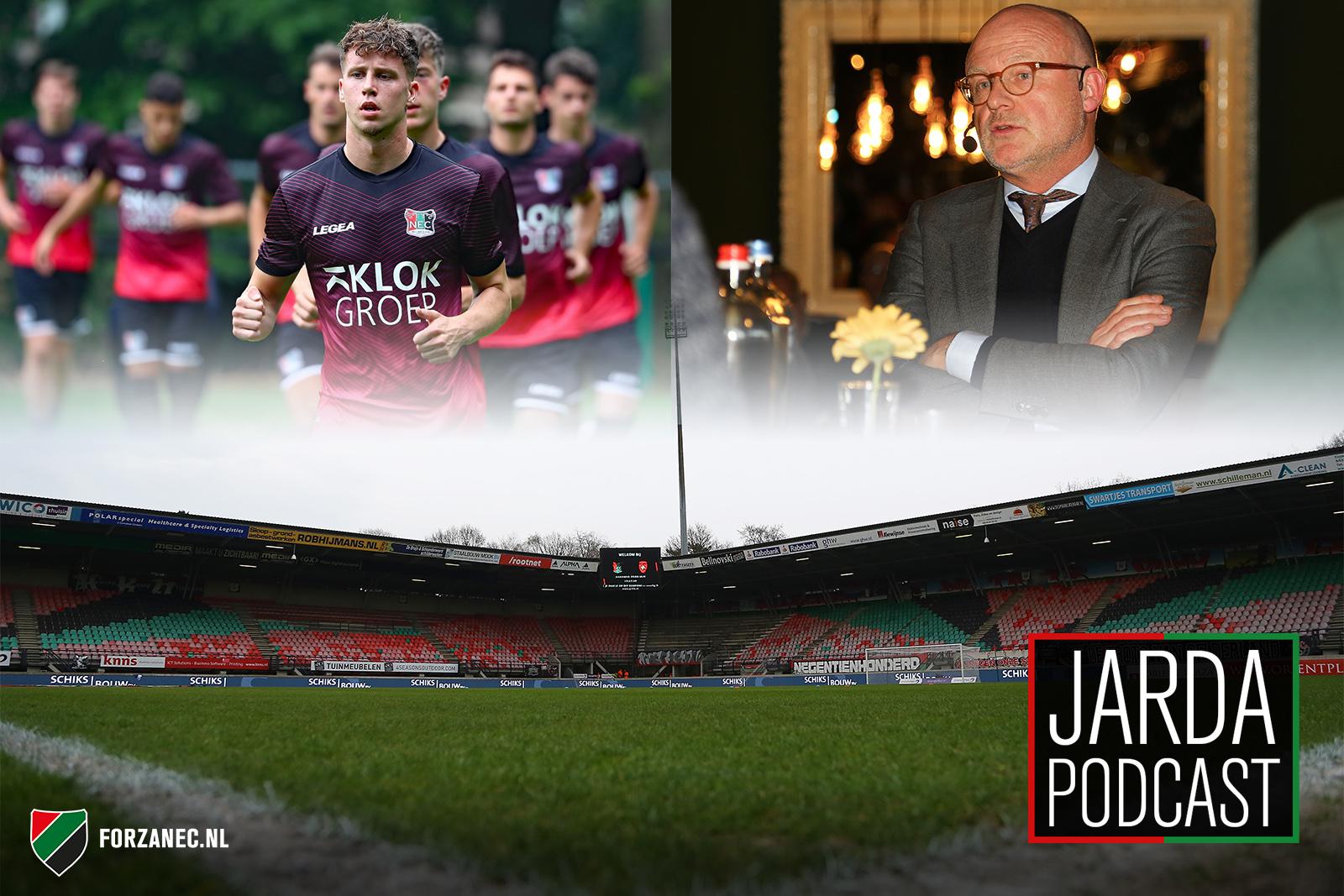 Jarda Podcast #39: NEC in coronatijd en bellen met Wilco van Schaik
