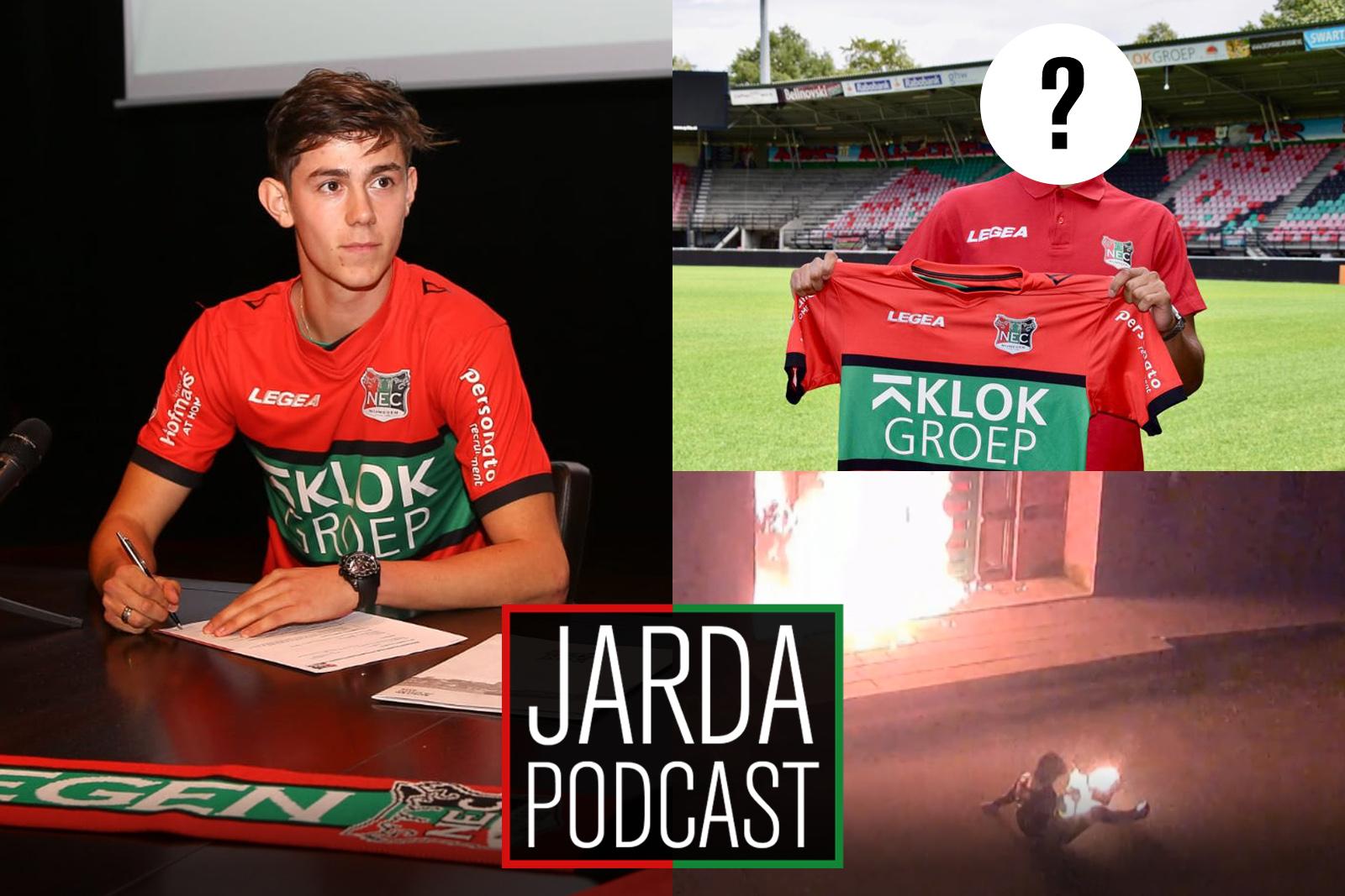 Jarda Podcast #45: Barreto in het vliegtuig en wie gaat scoren voor NEC?