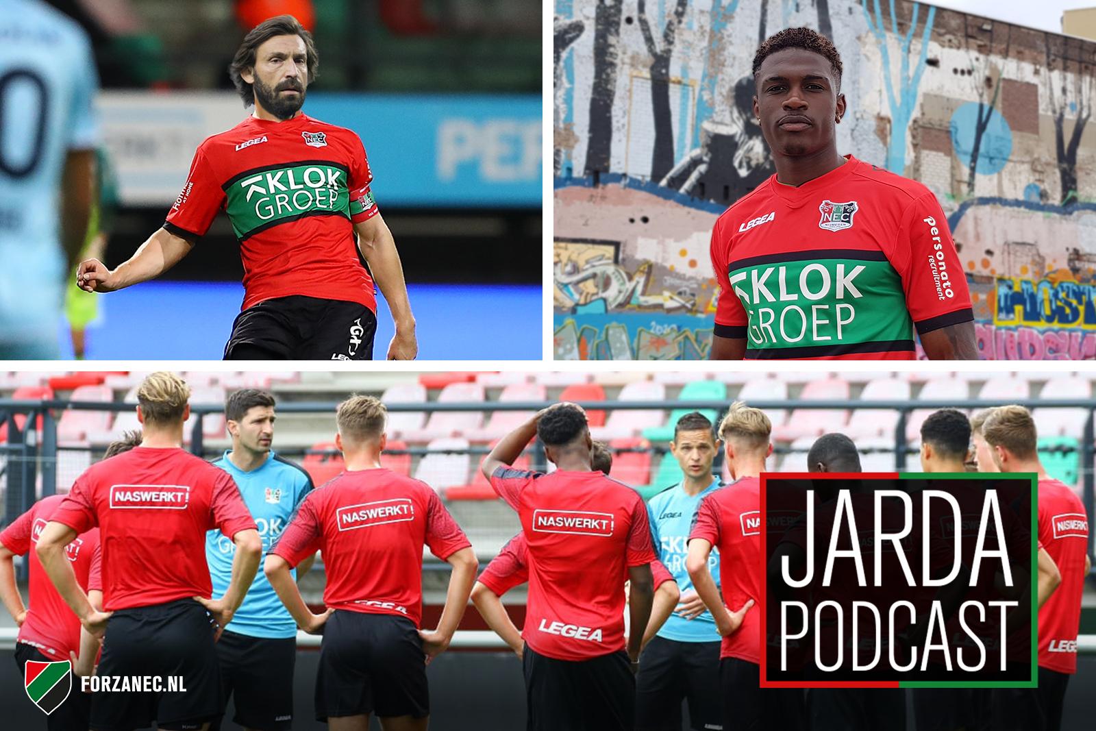 Jarda Podcast #46: Alles over de eerste training en Pirlo naar NEC