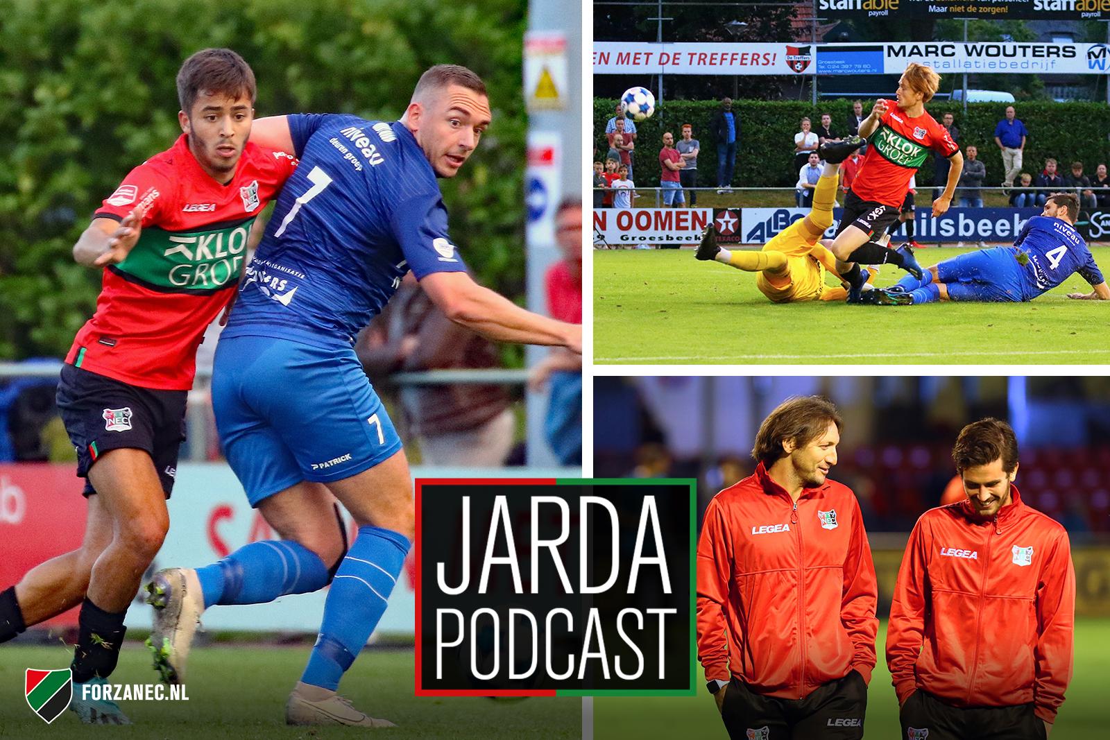 Jarda Podcast #47: 'Nijmeegse Thomas Müller' en zorgen om de aanval