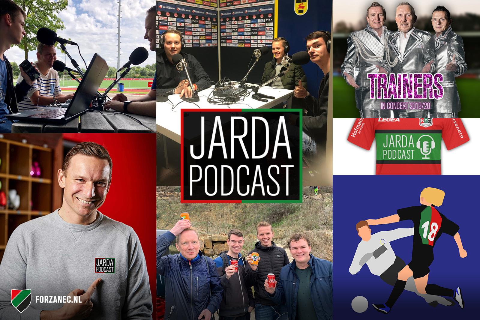 Jarda Podcast #50: Herinneringen ophalen en luisteraars aan het woord