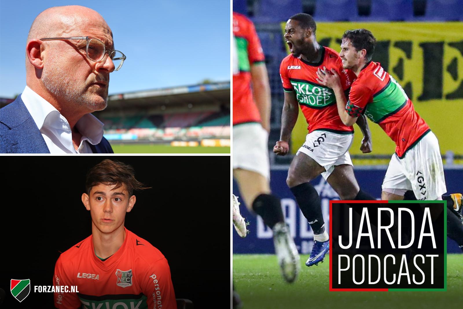 Jarda Podcast #55: Reden tot optimisme en 'nieuwe' speler voor NEC