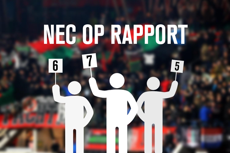 NEC op Rapport: Het regent weer onvoldoendes