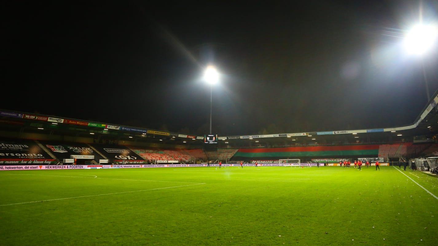 NEC richt zich op wedstrijd tegen Groningen in eigen Goffert zonder publiek