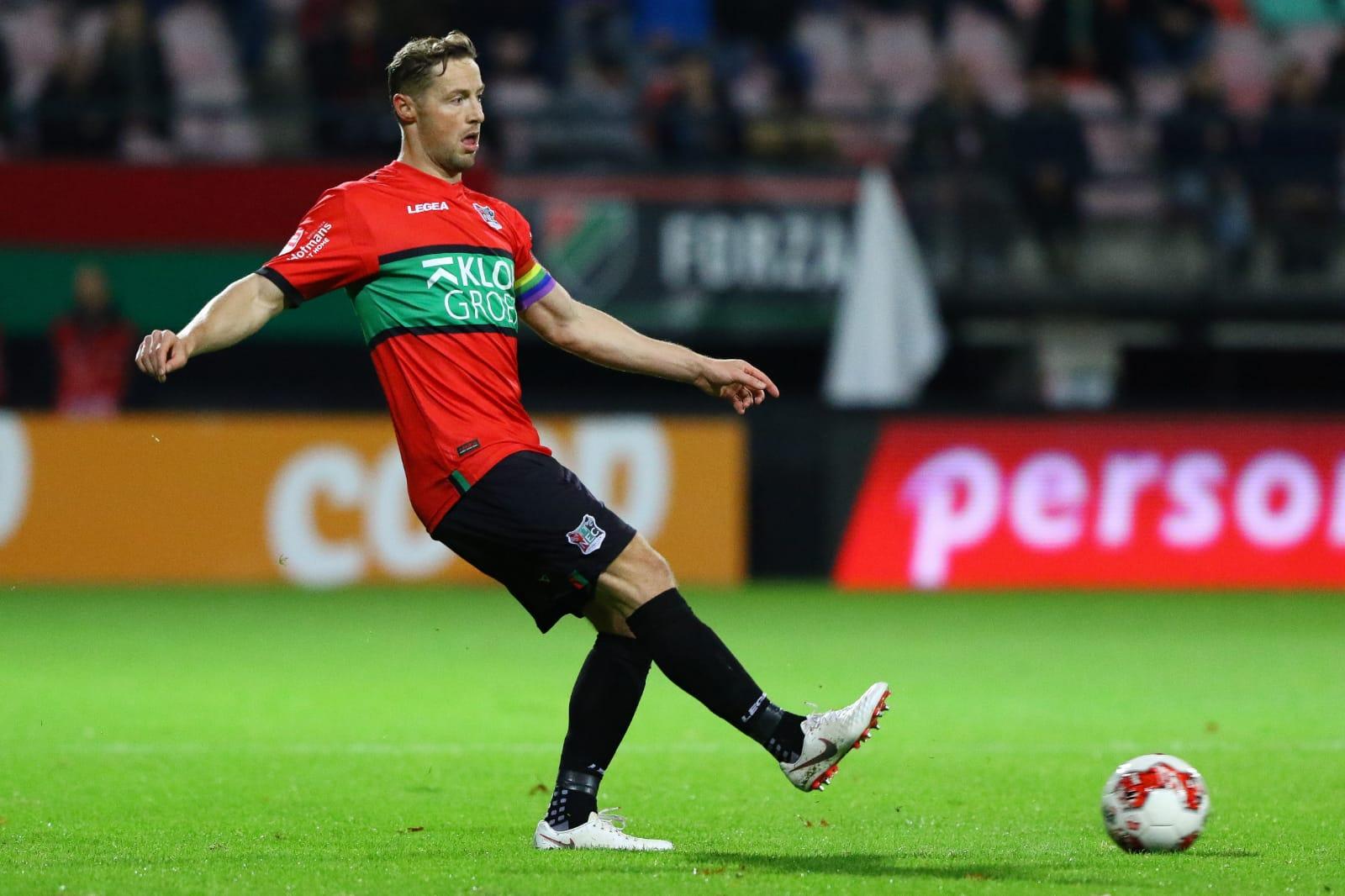 Van Eijden ook volgend seizoen onder contract bij NEC