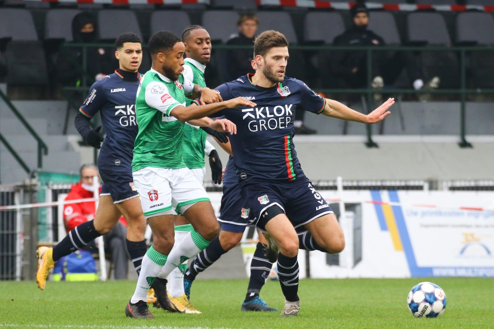 Laatste speelronde vervroegd: NEC-Dordrecht op woensdag