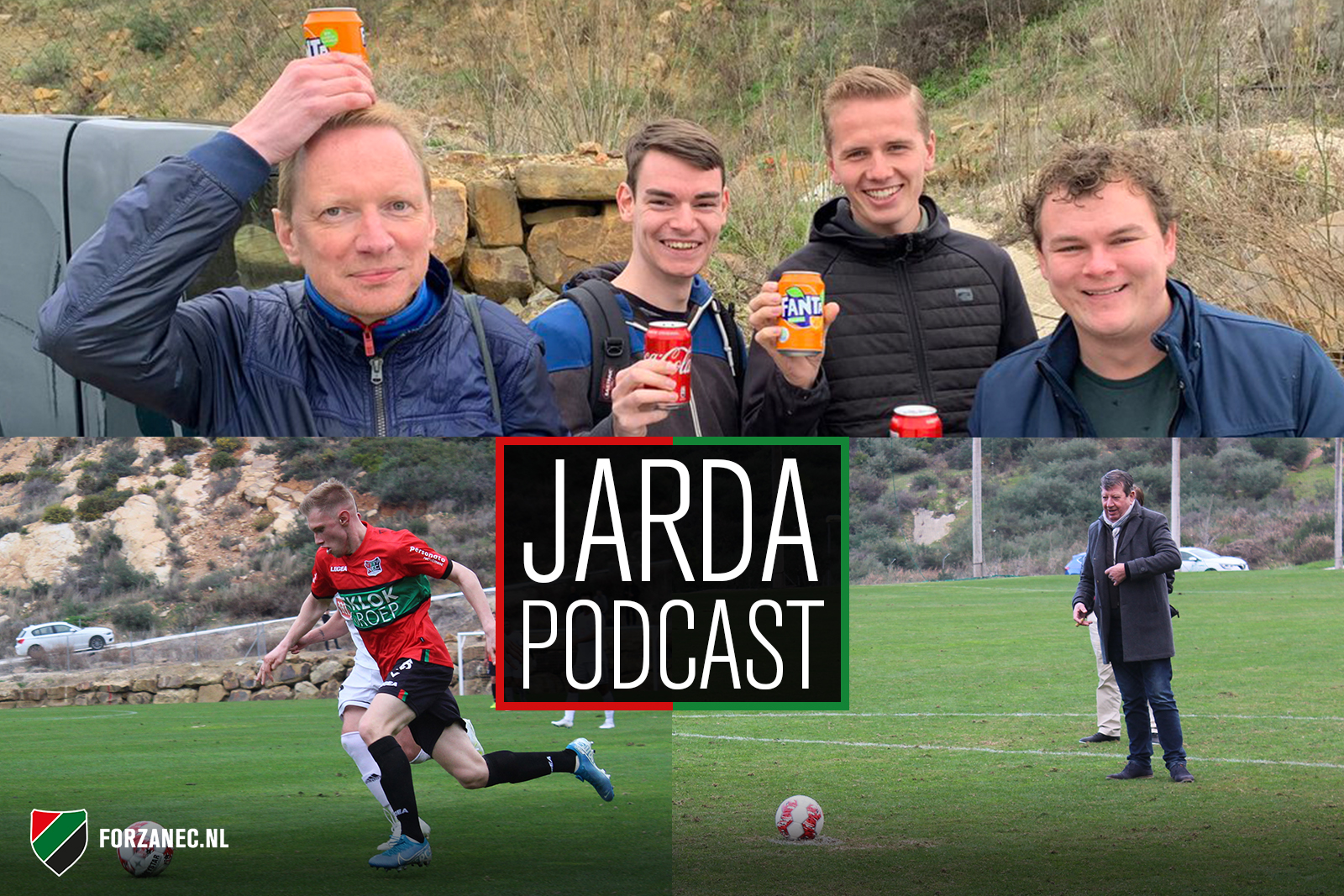 Jarda Podcast in Spanje #2: Met Jan Sommerdijk over de blikvangers van NEC