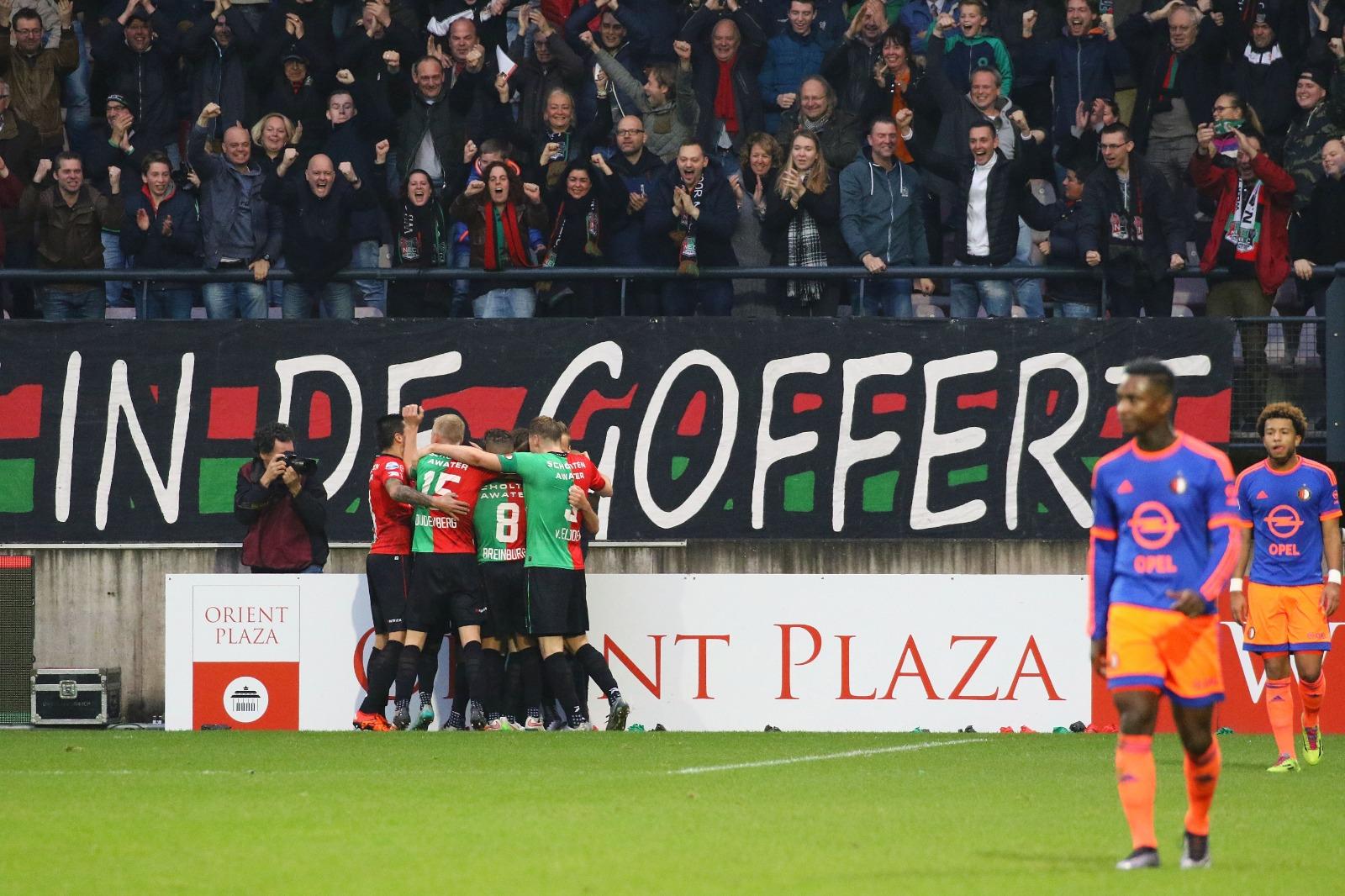 Memorabele momenten: NEC verslaat Feyenoord in eigen huis