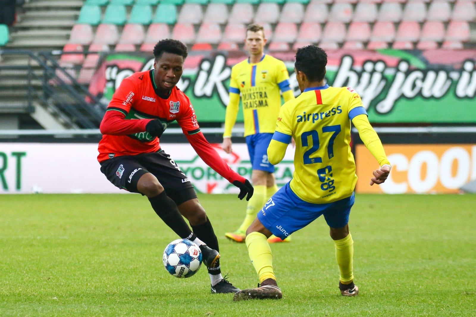 NEC doelpuntloos gelijk tegen koploper SC Cambuur