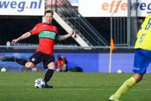 Van Eijden met dubbele gevoelens na gelijkspel tegen SC Cambuur