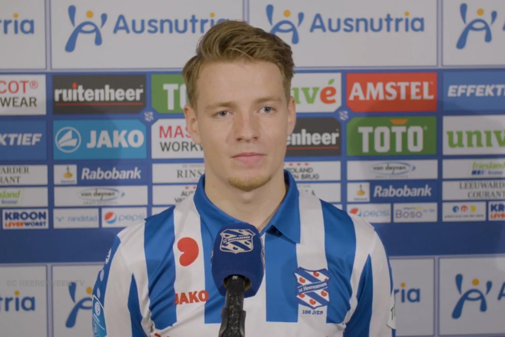 Van Ottele legt uit hoe Heerenveen bij hem terechtkwam