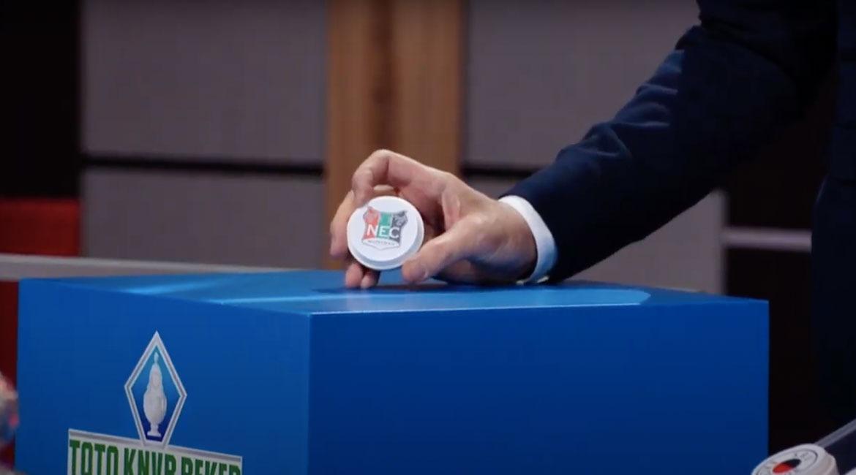 NEC treft VVV in kwartfinale KNVB-beker