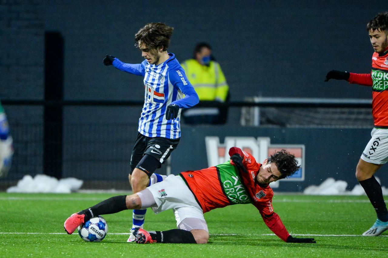 NEC houdt stand na sterke openingsfase tegen FC Eindhoven