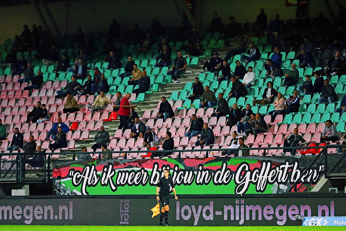 NEC-supporters mogelijk naar GelreDome voorafgaand aan NEC-NAC