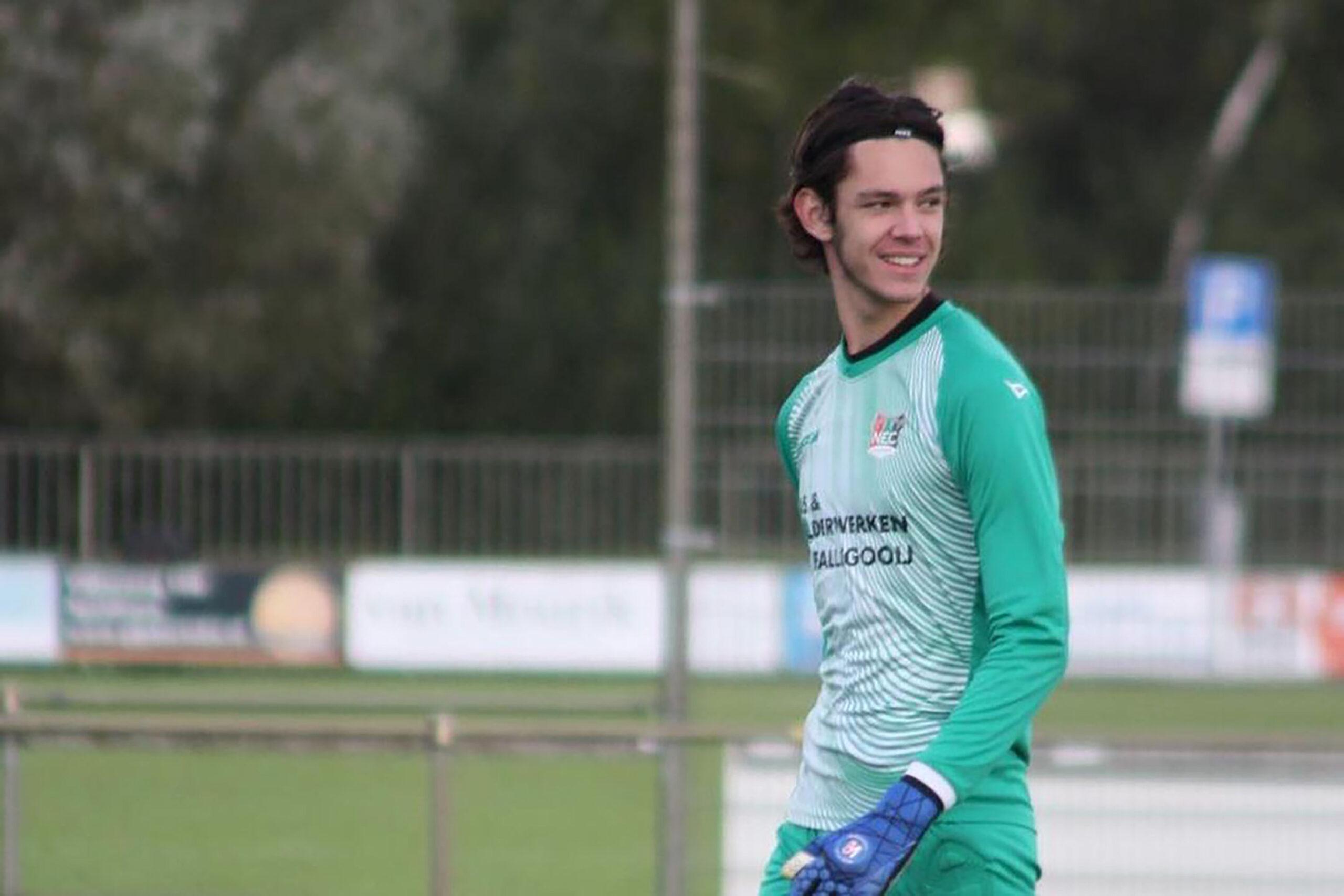 NEC raakt vijftienjarige keeper mogelijk kwijt aan Juventus