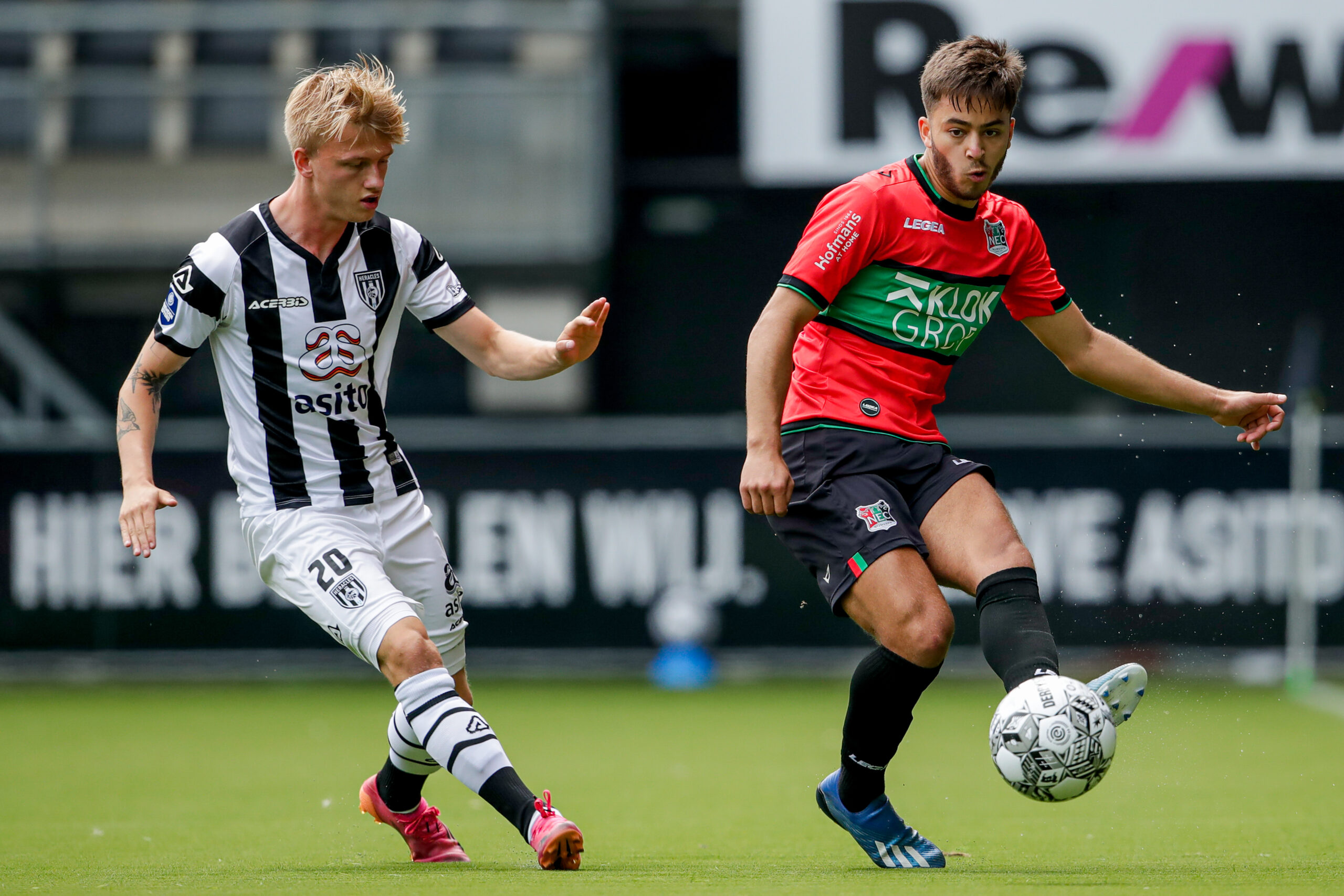"""Heracles-trainer Wormuth: """"Opletten, want NEC countert heel goed"""""""