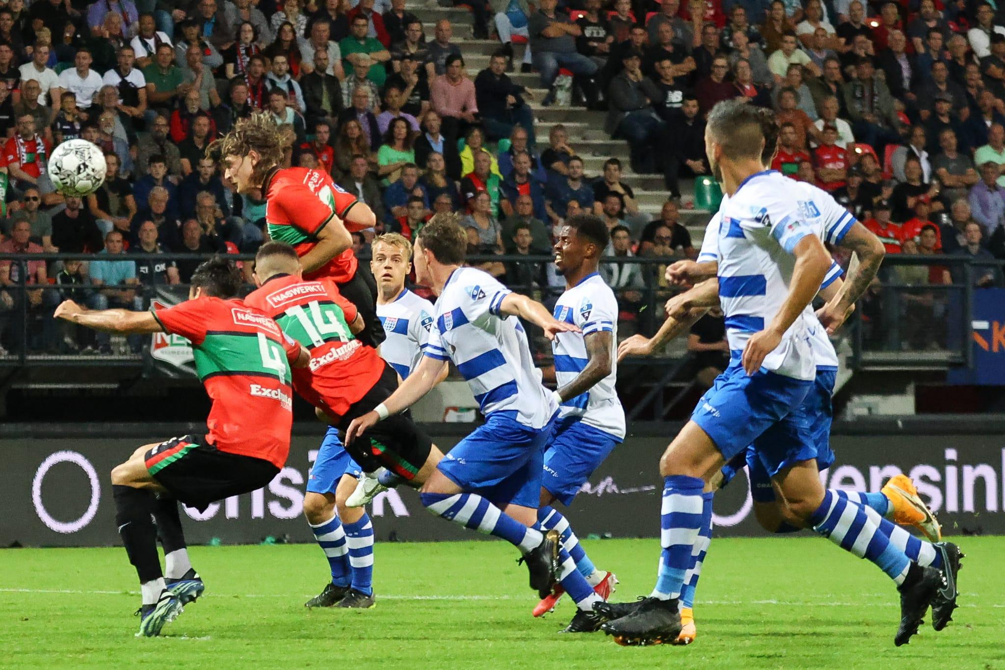 Bekijk hier de doelpunten terug van NEC-PEC Zwolle