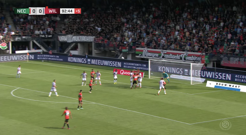 Samenvatting: NEC krijgt de bal er niet in tegen Willem II