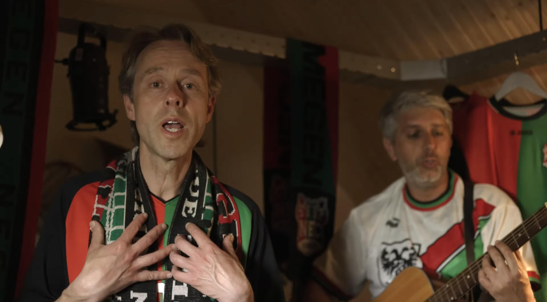 Michiel Kok brengt nieuwe NEC-single uit: Teken Van Liefde