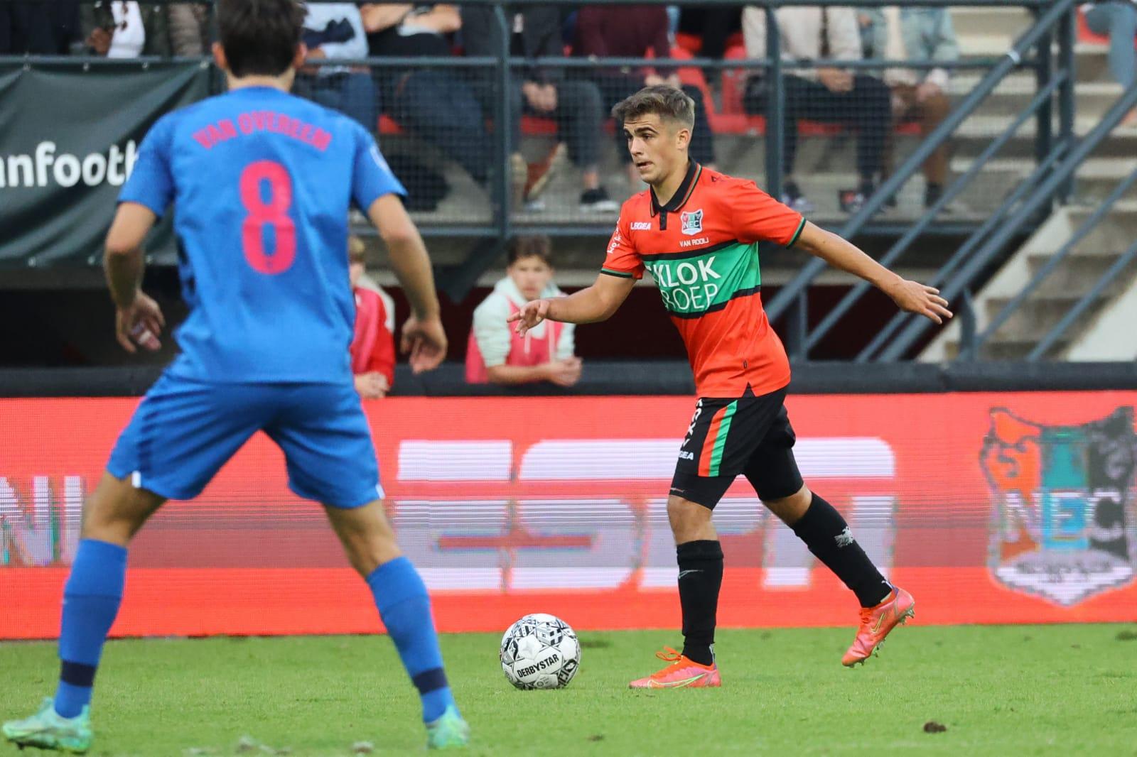 """Van Rooij ziet positieve dingen ondanks nederlaag: """"Ik zie ons team groeien"""""""