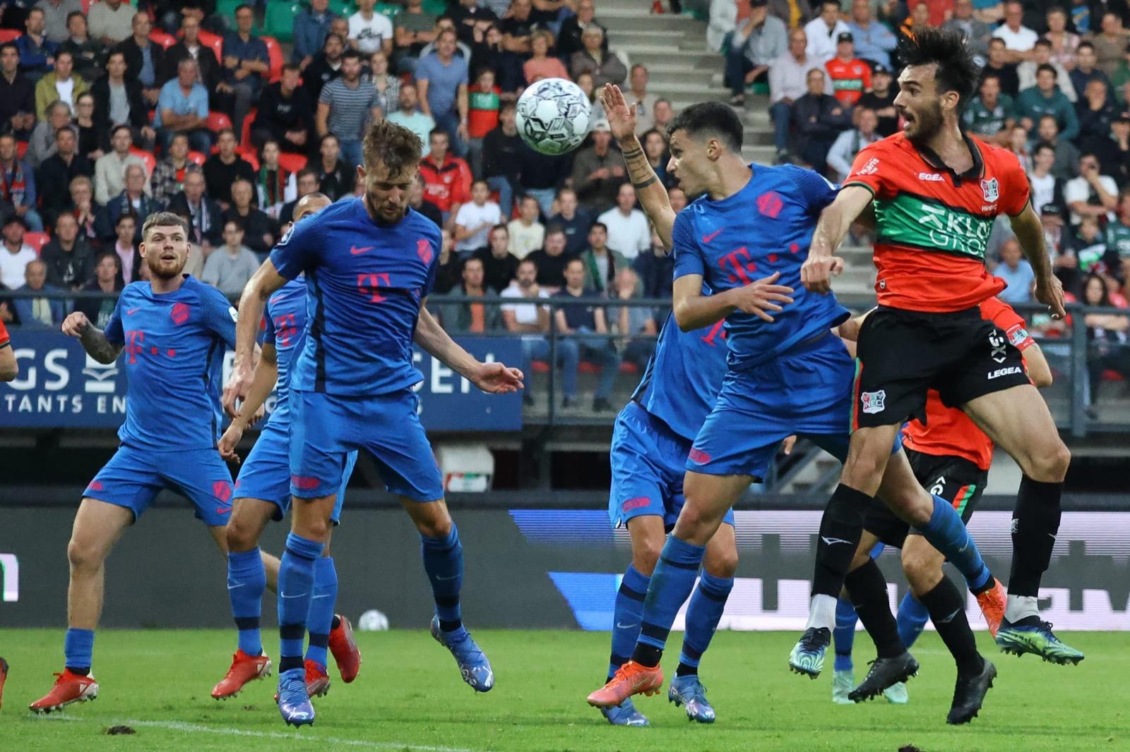 Dodelijk effectief Utrecht geflatteerd langs NEC