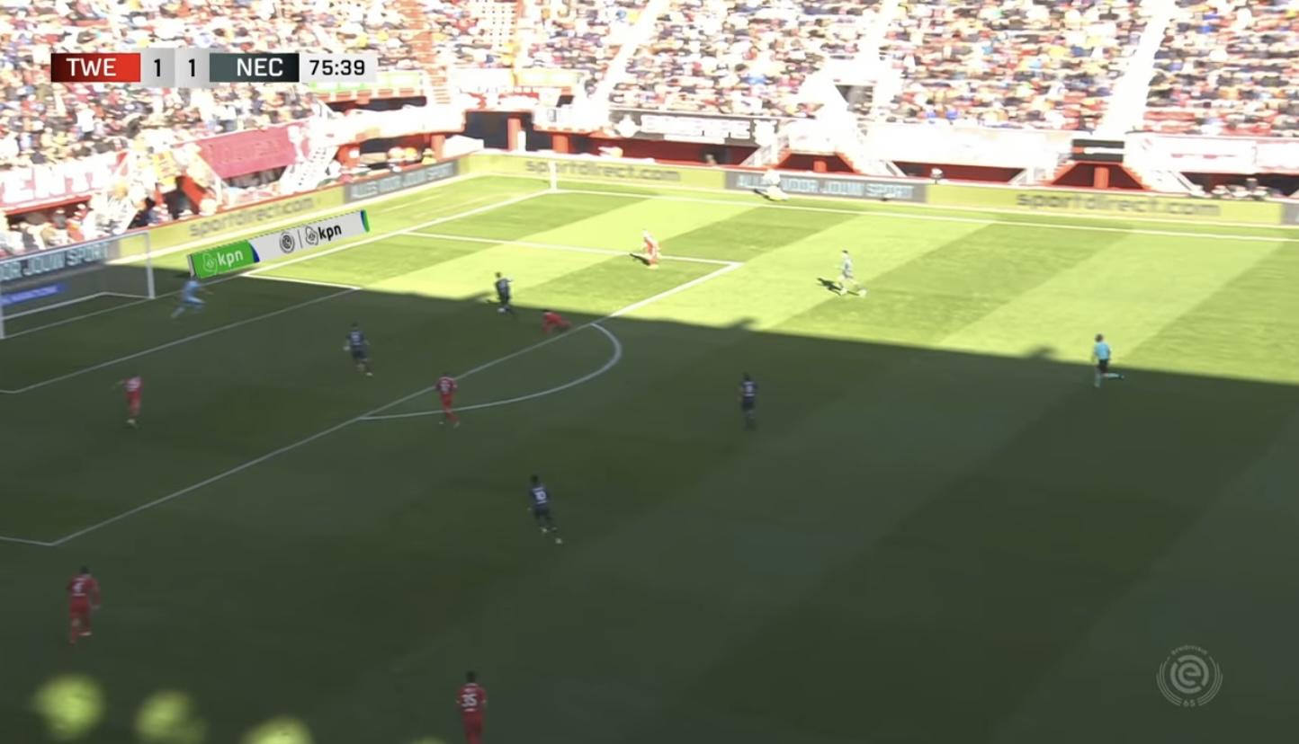 Samenvatting: NEC stoïcijns langs FC Twente na hectische week
