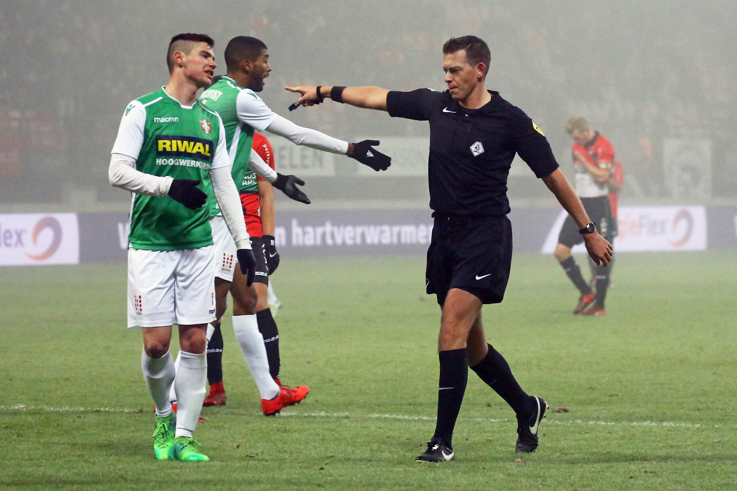 Lindhout scheidsrechter bij derby NEC – Vitesse