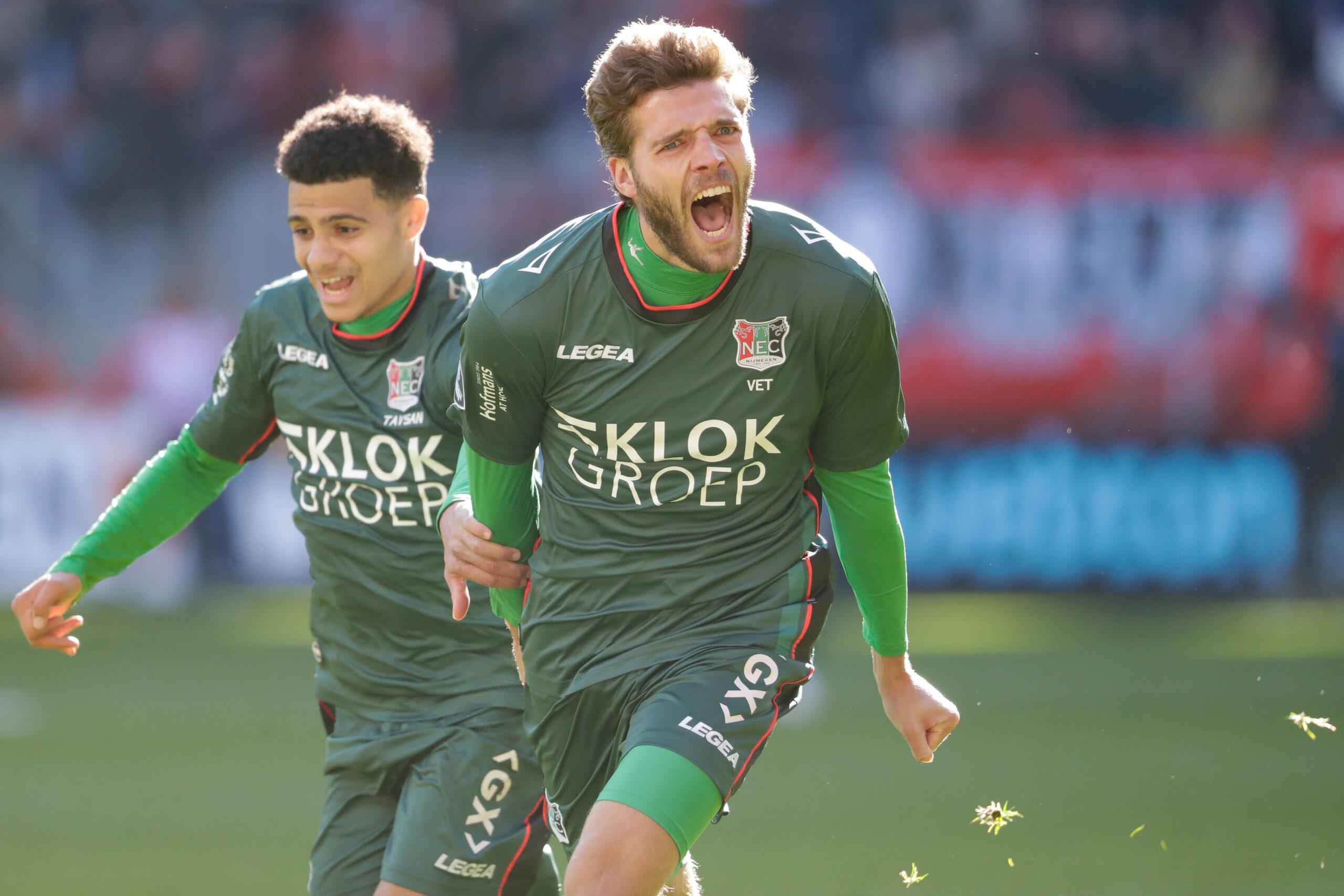 NEC herpakt zich na derby door te winnen bij FC Twente